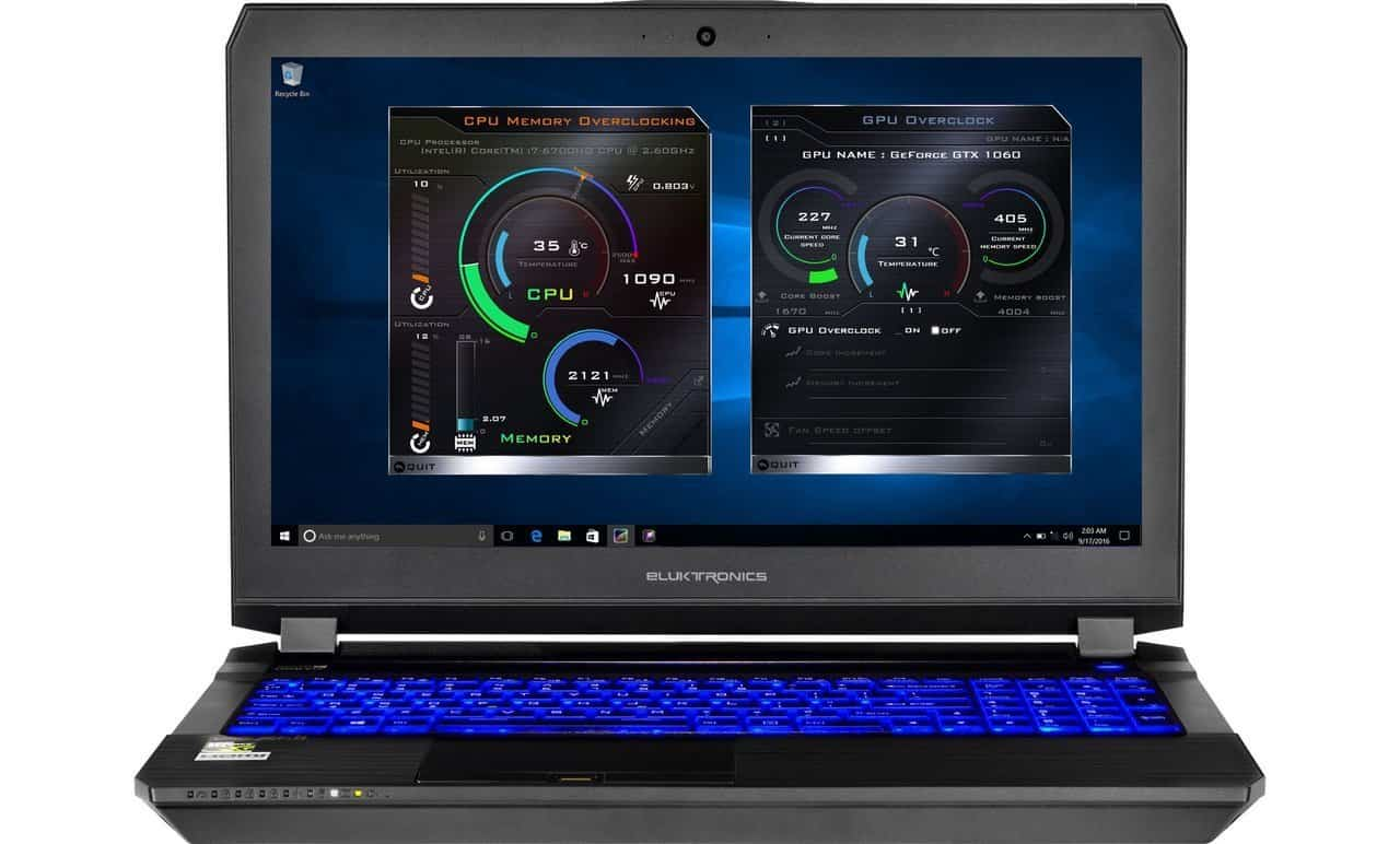 Eluktronics P650RP6 Premium VR Ready Gaming Laptop