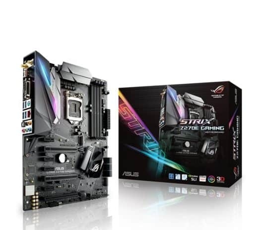 ASUS ROG STRIX Z270E GAMING Motherboard