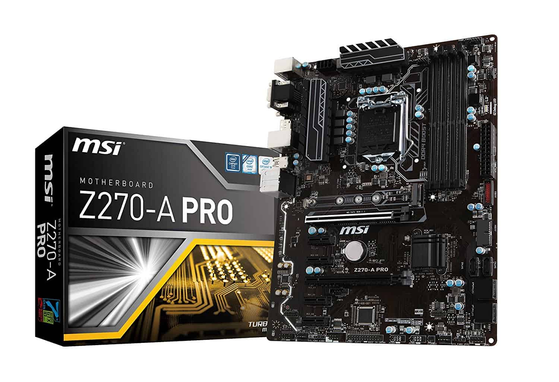 MSI Pro Series Intel Z270