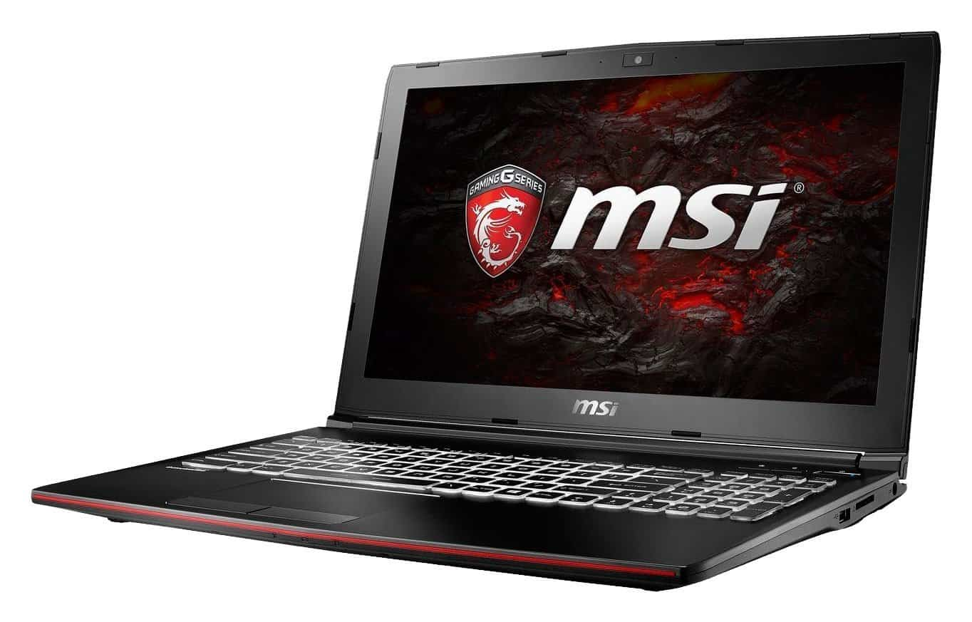 MSI GP62MVR248 15.6 Traditional Laptop