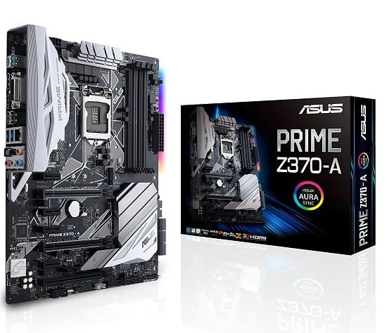 Asus Prime z370a Motherboard