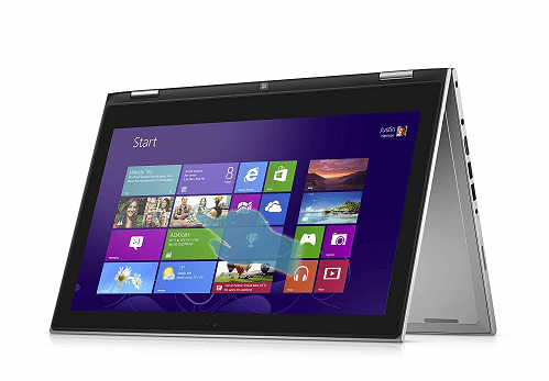 Dell Notebook i7347 Convertible Laptop