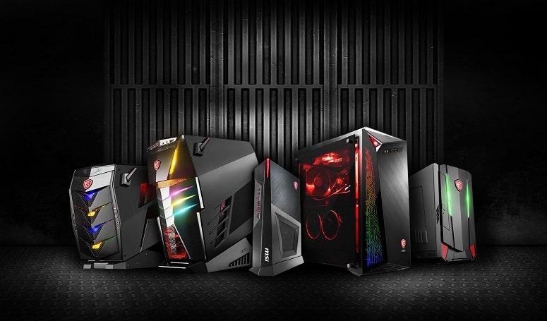 Different Gaming Desktops