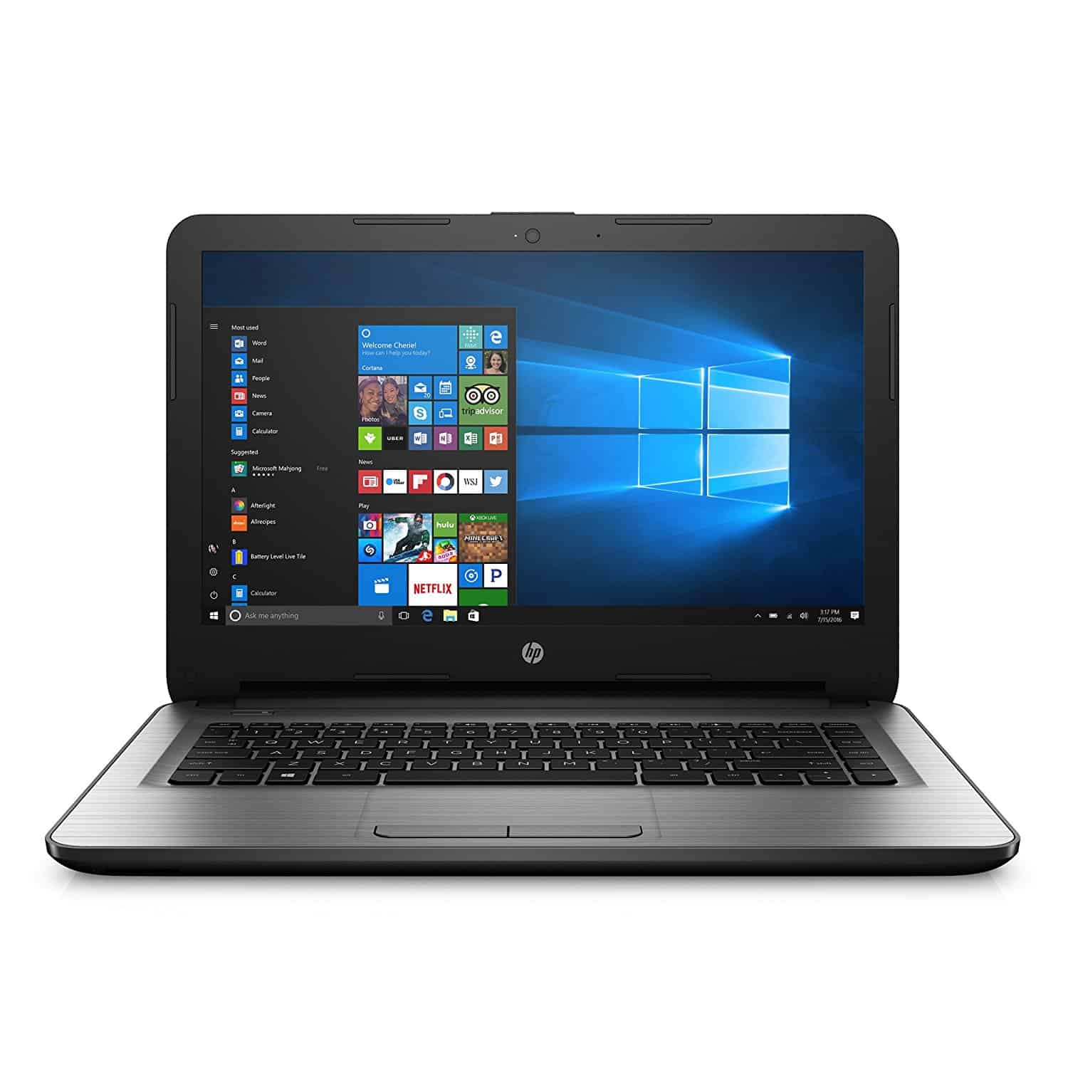 HP 14-inch Laptop under $200