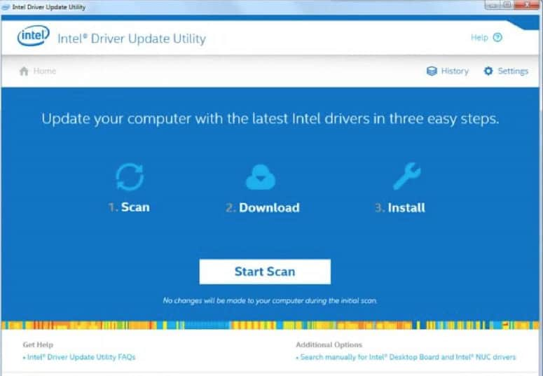 Driver Utility used by Intel