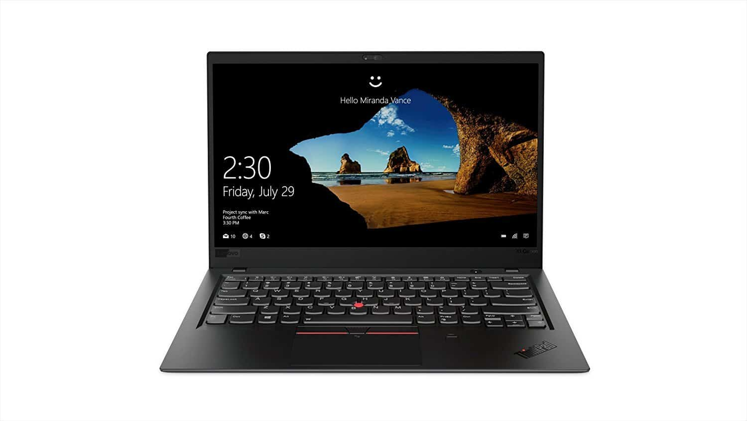 Lenovo ThinkPad X1 Carbon Laptop Review