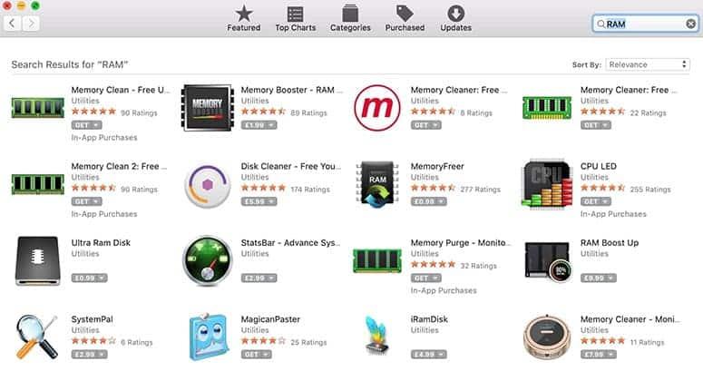 Apple RAM apps