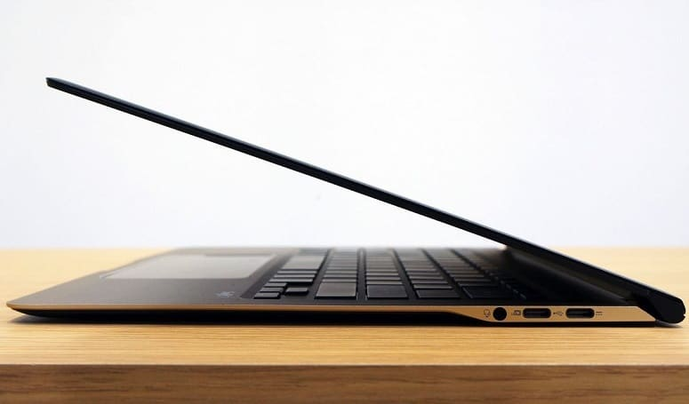 Ultrabook On Table