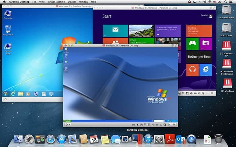 Windows 7 8 10 on macOS