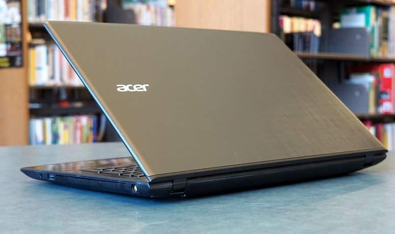 Acer Laptop On Table