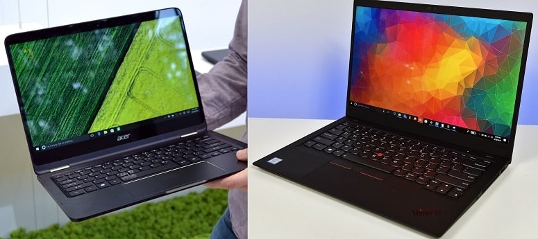 Acer And Lenovo Laptops