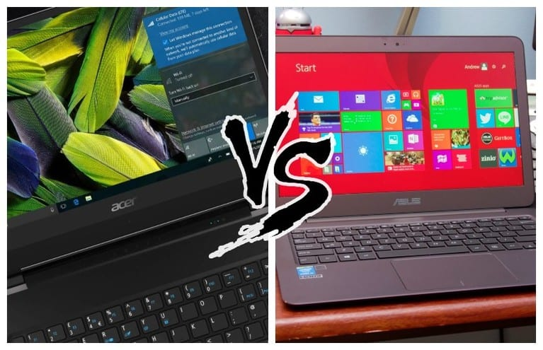 Acer Vs Asus Laptops: Which Brand Is Better? [2019 Edition]