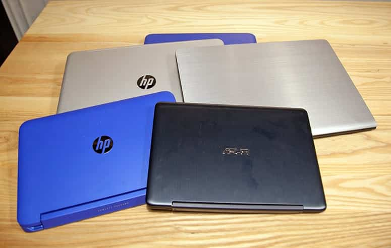 HP and Asus