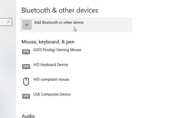 Windows 10 Bluetooth