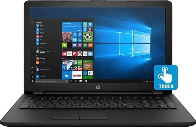 HP Notebook Touch Screen