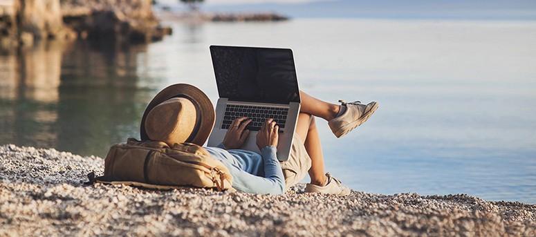 Beach Laptop Backpack
