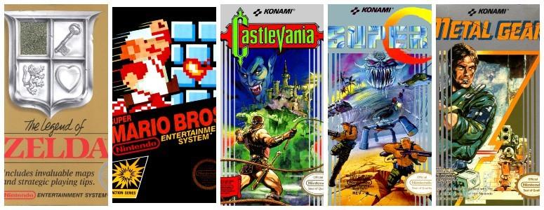 Legendary NES Games