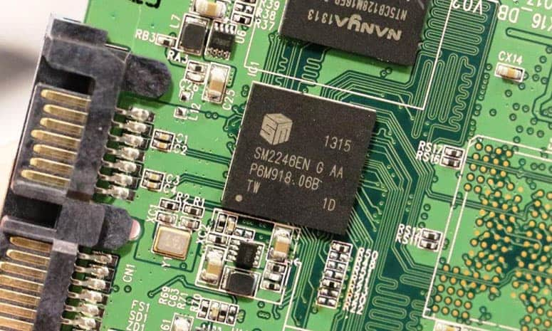 SSD Controller on a board