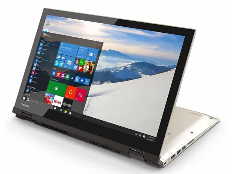 Windows 10 Toshiba Laptop