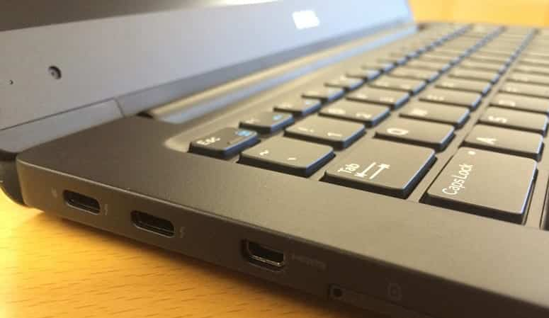 Ultrabook Lacks Ports