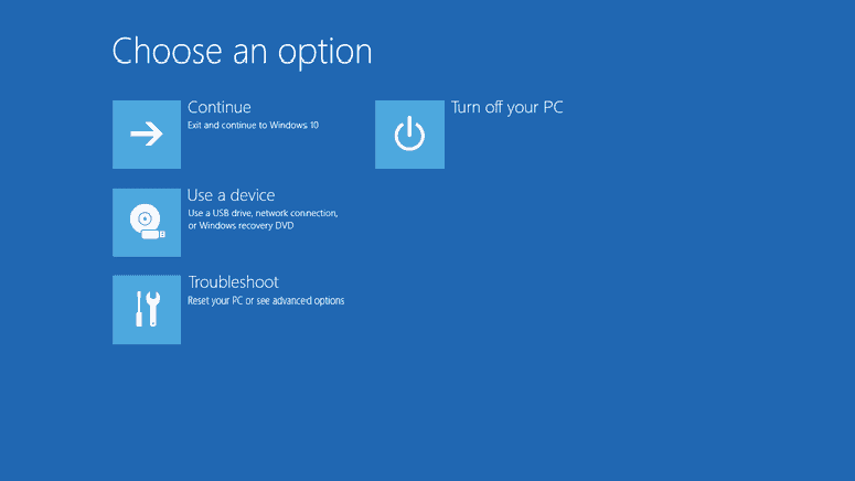 Advanced Options In Windows
