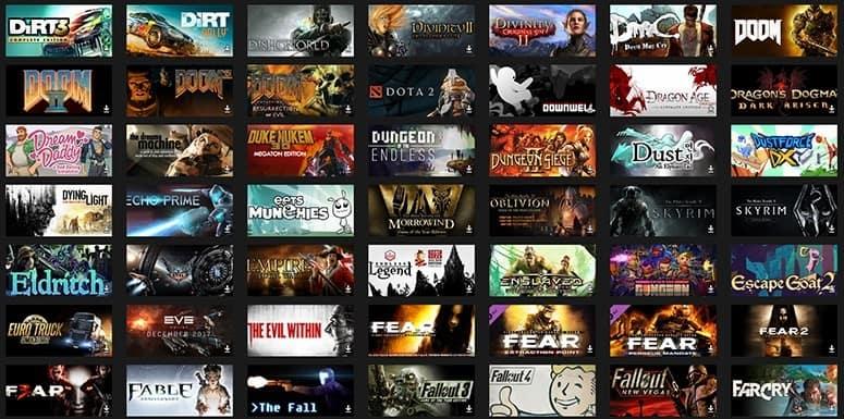 Games Backlog