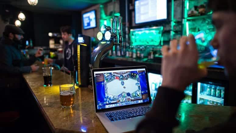 E-sports bar London