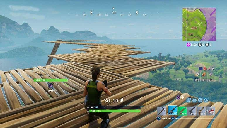 Using Ramps in Fortnite