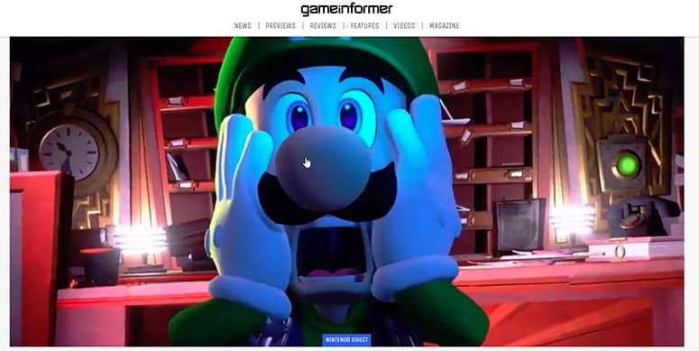 Game Informer Website