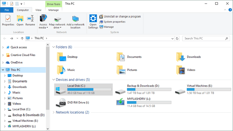 HDD Spaces