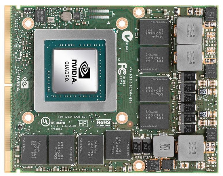 Laptop Quadro GPU