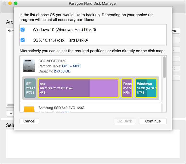 Partition Managments Multi OS