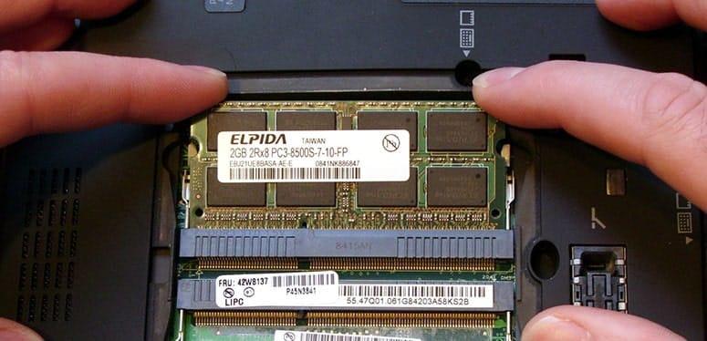Getting more RAM in laptop
