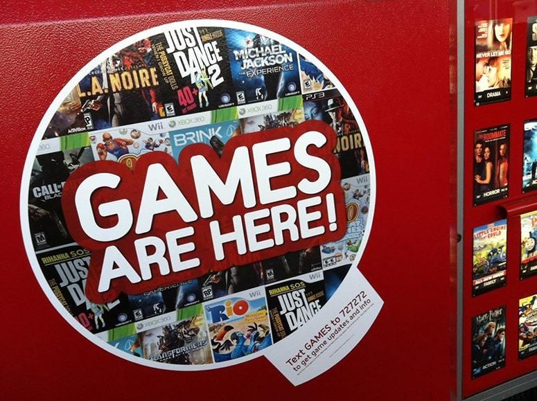 Redbox Games Renting