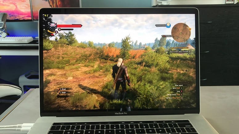 Macbook Witcher 3