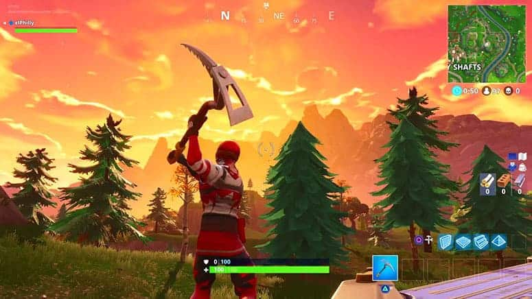 Gather Wood Pickaxe