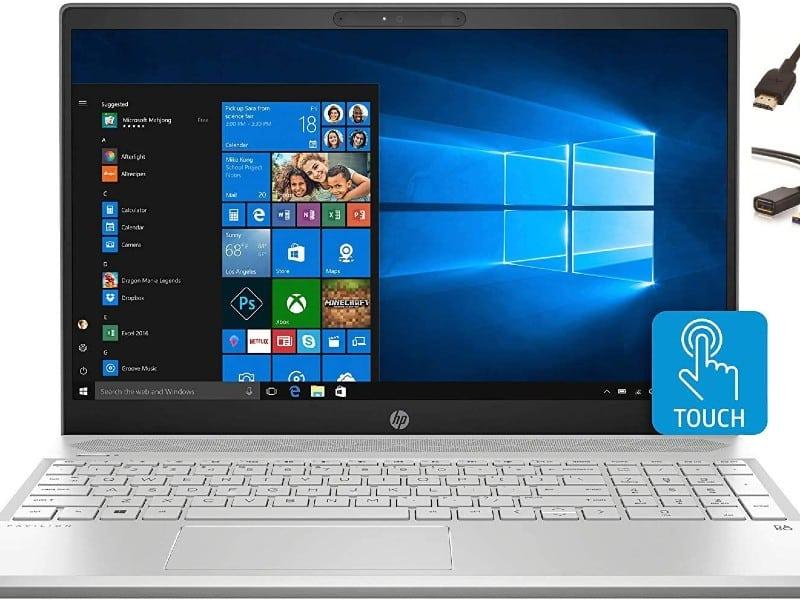 """2020 HP FHD 15.6"""" TOUCHSCREEN LAPTOP COMPUTER"""